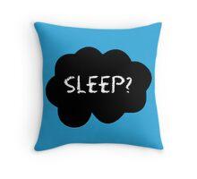 Sleep? Throw Pillow
