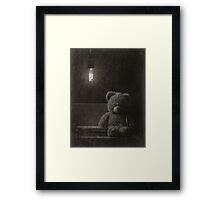 Lonely Toy Framed Print