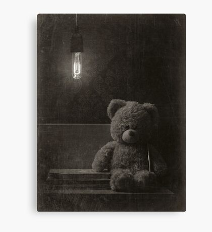 Lonely Toy Canvas Print
