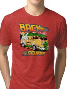 Back to the Sewers Tri-blend T-Shirt