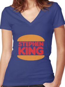 Stephen King Women's Fitted V-Neck T-Shirt