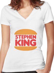 Stephen King Women's Fitted V-Neck T-Shirt