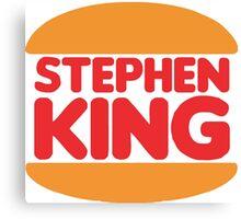 Stephen King Canvas Print