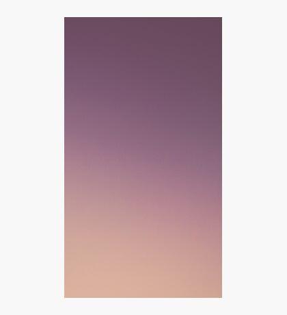 PEACH & PURPLE SUNSET Photographic Print