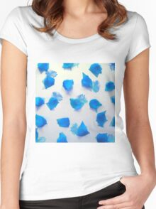 Azure poly crush Women's Fitted Scoop T-Shirt