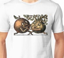 Orange and Fennel Tango Unisex T-Shirt