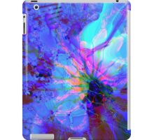 Purple and Blue Abstract iPad Case/Skin