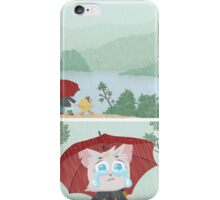 Passing by a nice view iPhone Case/Skin