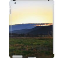 Driving Along One Evening iPad Case/Skin