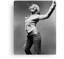 Liz Phair Black & White Canvas Print