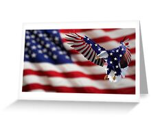 Independence Day Eagle Greeting Card