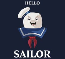 Ghostbusters | Mr. Stay Puft | Hello Sailor by rydrew