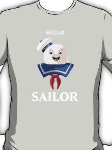 Ghostbusters | Mr. Stay Puft | Hello Sailor T-Shirt