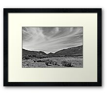 Arizona Landscape Framed Print