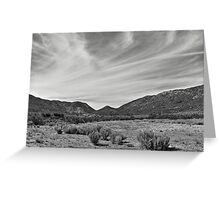 Arizona Landscape Greeting Card