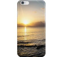 Sunset Beach Combing iPhone Case/Skin