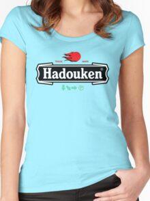 Hadouken Women's Fitted Scoop T-Shirt