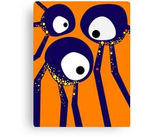 Staring Contest Canvas Print