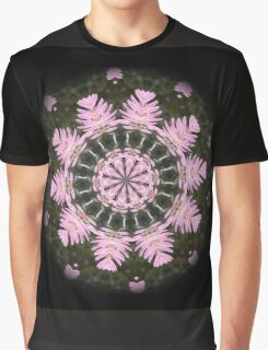 Pink Protea Wheels Graphic T-Shirt
