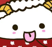 Poro Christmas Globe  Sticker