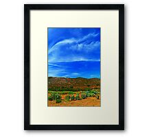 Arizona SkyWay Framed Print