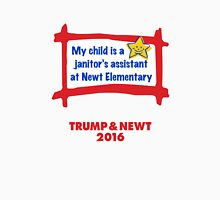 Proud Parent USA. Trump & Newt 2016 Unisex T-Shirt