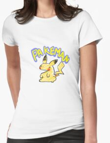 PAKEMAN Womens Fitted T-Shirt