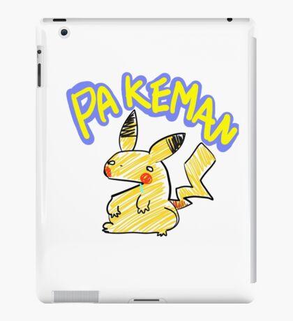 PAKEMAN iPad Case/Skin