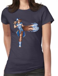 Chun Li Womens Fitted T-Shirt