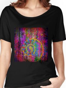 Trippy Abstract Women's Relaxed Fit T-Shirt