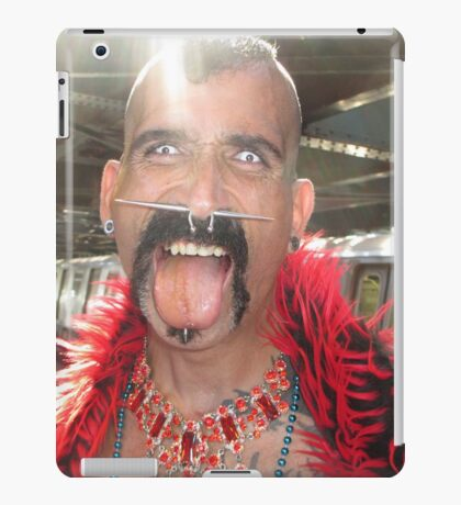 Freaky man iPad Case/Skin