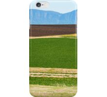 Country agricultural and farming field iPhone Case/Skin