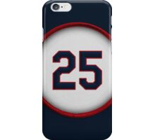 25 - Thomer iPhone Case/Skin