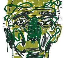 Green with envy by hazeleyesstudio