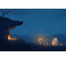 Hunting Egg Photographic Print