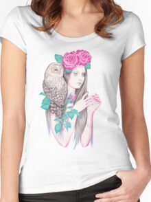 Blossomtime Women's Fitted Scoop T-Shirt