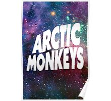 Arctic Monkeys Galaxy Poster