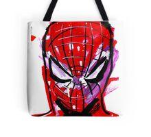 Spiderman splash Tote Bag