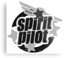 Spirit Pilot Metal Print