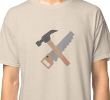 Hammer and saw   Classic T-Shirt