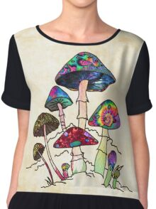 Garden of Shroomz Chiffon Top