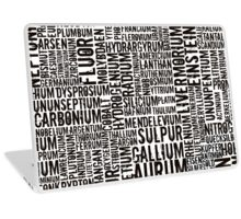 Chemical Elements Laptop Skin