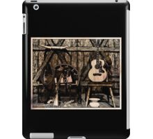 Guns and Guitar iPad Case/Skin
