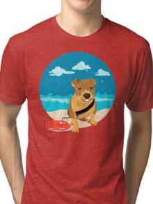 Capone Be Safe Tri-blend T-Shirt