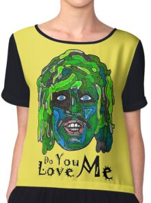 Old Gregg - Mighty Boosh - Do You Love Me? Women's Chiffon Top