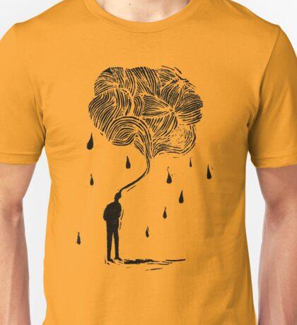 Raining man Unisex T-Shirt