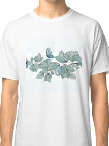 Floral Background Classic T-Shirt