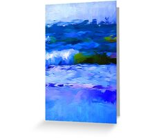 Little Waves 2 Greeting Card