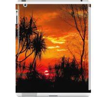 Pandanus Sunset iPad Case/Skin
