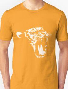 Monochrome Tiger Unisex T-Shirt